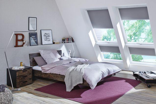 Dachraum perfekt genutzt
